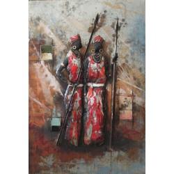 Femmes Massai 80x120