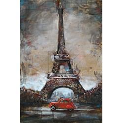 Paris en 2CV 40x80