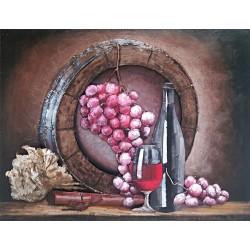 Tonneau grappe de raisin