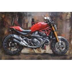 Tableau métal Ducati 40x60 EN 3 D