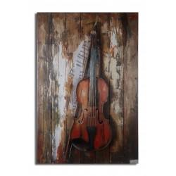 Mon violon 60x80