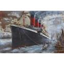 Tableau métal Titanic 50x75 EN RELIEF