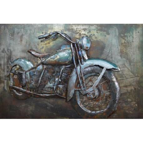 En vadrouille à moto 40x60