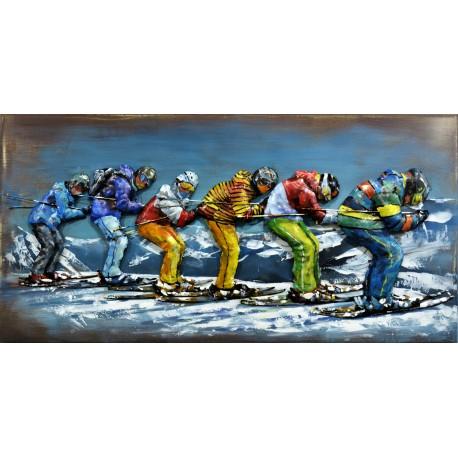 Skier en chenille 60x120