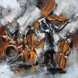 Jazz quartet 60x60