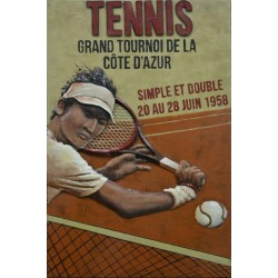 Tennis simple double 40x60