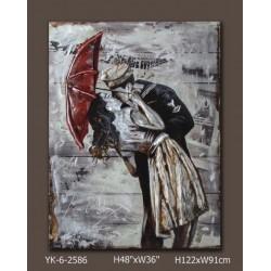 La Sevillane au violon 80x120 FOND BOIS