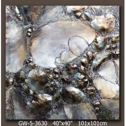 Cristal in rock 100x100