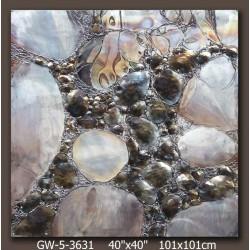 Bulles de cristal 100x100