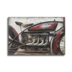 Tableau métal Moto Indian 60x90