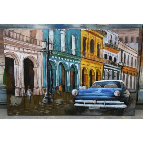 Tableau métal Havana car 80x120