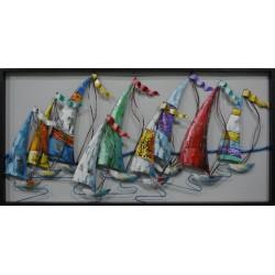 Déco murale 19093 Les grandes voiles