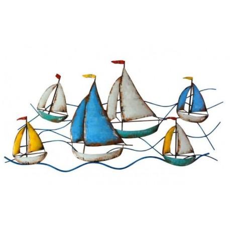 Déco murale 20584 Les petits bateaux