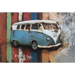 Vintage Blue Volkswagen 40x60cm