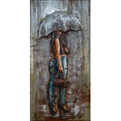 Jean et parapluie 60x120