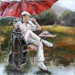 Golfeur 60x60
