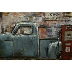 Truck & gas 80x120