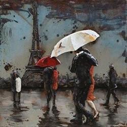 Octobre à Paris 60x60