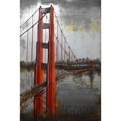 Tableu métal Golden Gate Bridge 60x90