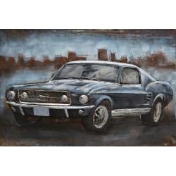 Tableau métal Mustang 60x80