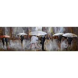 Parapluies blancs 56x180