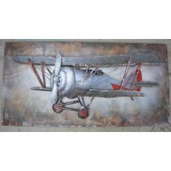 Tableau métal En vol 50x100