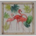 Déco murale 1369 Flamingos