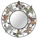 Déco murale 3693 Miroir à papillons