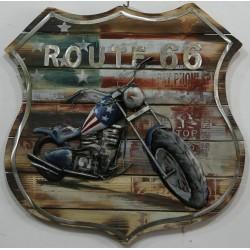 Médaillon moto 60x60
